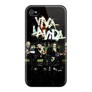 New PYl2509HaXN Coldplay Band Members Tpu Cover Case For Iphone 4/4s