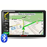 7-Inch Car GPS Bluetooth Navigation 8GB 256MB System Units Screen US and Canada Preloaded Maps and Speed Limit Displays