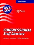 Congressional Staff Directory 2009, , 0872894444