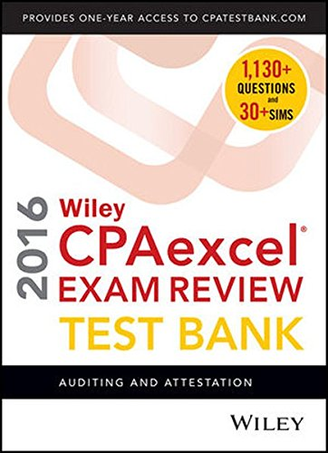 wiley-cpaexcel-exam-review-2016-test-bank-auditing-and-attestation