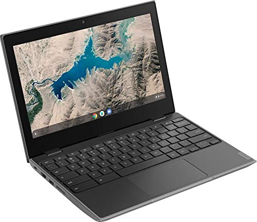 "2020 Lenovo 100e Chromebook 11.6"" Laptop Computer for Business Student, Quad-Core CPU, 4GB RAM, 32GB Storage, Webcam, Type-C USB, 2x2 AC WiFi, HDMI, Chrome OS, YZAKKA 16GB SD Card + Mouse Pad"