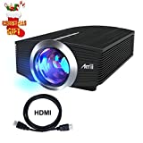 Electronics : Home Video Projector, Artlii 1600 Lumens HD LED Projector for Movie Laptop Smartphone iphone Mini Videoprojector
