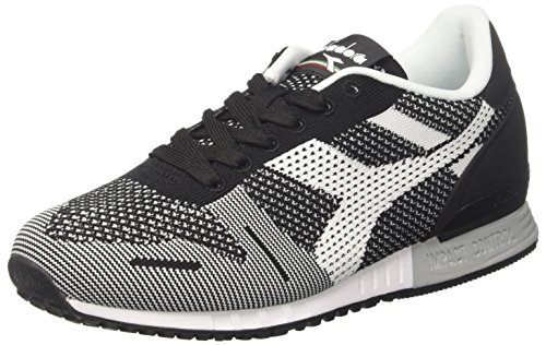Diadora Herren Titan Weave Sneaker Schwarz (Nerobianco)
