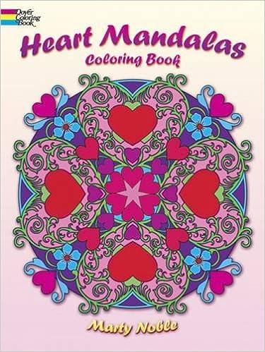 hearts and mandalas valentine coloring book mandala coloring book for girls mandala gifts for women easy mandalas mandalas for beginners adult coloring book beginner coloring books for adults
