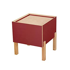 Tu elección Mesa de Centro Mesita de Noche Panel con Base de Madera nórdica Moderna Simplicidad Salón de Ocio Lado