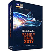 Bitdefender Family Pack 2017 Software (Unlimited Devices)
