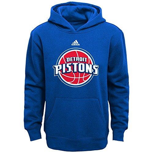 NBA Detroit Pistons Boys 8-20 Primary Logo Fleece Hoodie, Royal,