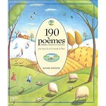 190 POÔMES PRIÔRES CHANTS ET PSAUMES