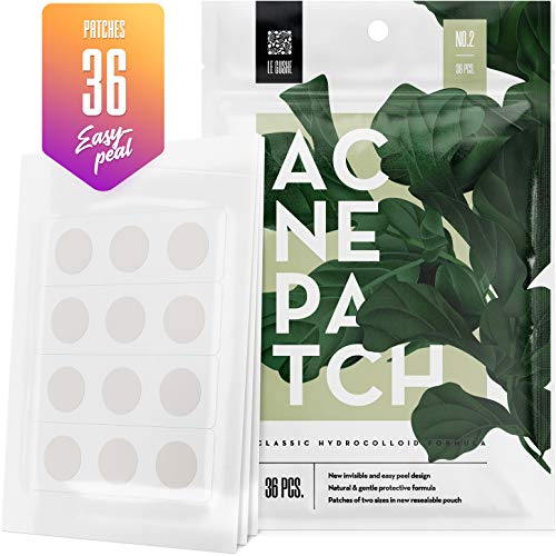 Acne Pimple Master Patch 36 dots - Absorbing Hydrocolloid Blemish Spot Skin Treatment and Care Dressing (Best Medicine For Acne And Pimples)