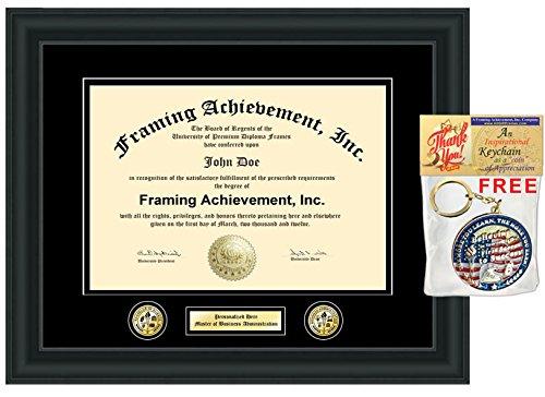 Personalizado Certificado marco dos doble oro sello insignia ...