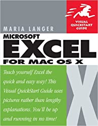 Excel X for MAC OS X: Visual Quickstart Guide (Visual QuickStart Guides)