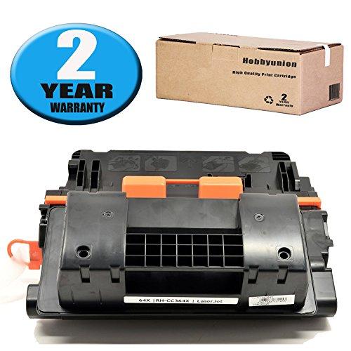 CC364X (64X) Toner Cartridge 1 Pack Black by Hobbyunion Compatible for LaserJet P4015 P4015N P4015TN P4015X P4515 P4515N P4515TN P4515X P4515XM