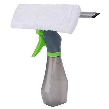 Anano 3 en 1 limpiador de ventana enjugador, lavadora de ventanas de microfibra, limpiaparabrisas