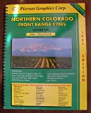 img - for Northern Colorado front range cities (close up): Atlas - street guide book / textbook / text book