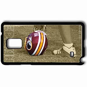 Personalized Samsung Note 4 Cell phone Case/Cover Skin 1552 washington redskins Black