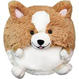 : Squishable Corgi Plush, Tan and White, Mini 7""