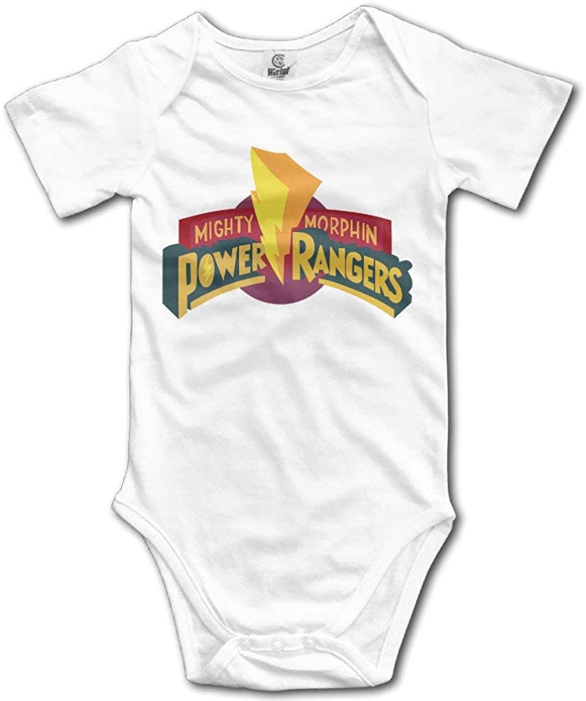 Mighty Morphin Power Ranger Cute Baby Outfits