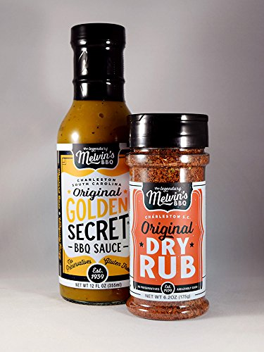 Melvin's Original Golden Secret BBQ Sauce & Dry Rub