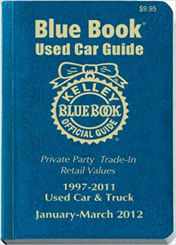 Kelley Blue Book Used Car Guide Consumer Edition January March 2012