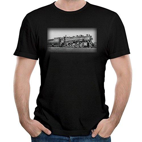 canadian-national-railroad-engine-3528-mens-t-shirt
