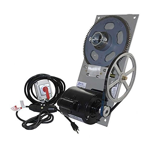 BH-USA Powder Coated BH-40 Standard Boat Lift Hoist Combo Box with Spring Switch/110 V GFCI