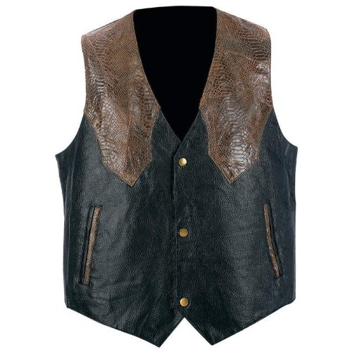Western Leather Clothing (Giovanni Navarre™ Hand-Sewn Pebble Grain Genuine Leather Western-Style)