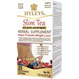 Hyleys Slim 5 Flavor Assortment 25 Tea Bags (100% Natural, Sugar Free, Gluten Free and Non GMO)