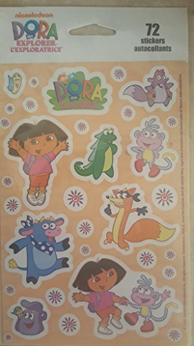 Dora the Explorer 72 Sticker/Autocollants