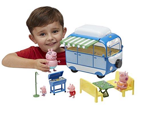 peppa pig pph03 vacances le camping car avec 4 personnages et accessoires la caverne du. Black Bedroom Furniture Sets. Home Design Ideas