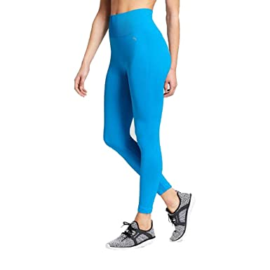 b4f1638df623d JoyLab Women s High Waist Seamless Crop Leggings - (Cloisonne Blue ...