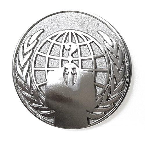 Pinsanity Anonymous Symbol Lapel Pin