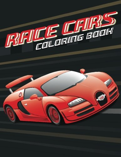 Nascar Coloring Book - Race cars; Easy coloring book for boys kids toddler, Imagination learning in school and home: Kids coloring book helping brain function,creativity, and imagination perfected for boys and girls