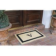 """A1 HOME COLLECTIONS Classic Border Door Mat-V, 24""""x36""""(A1HOME200051-V)"""