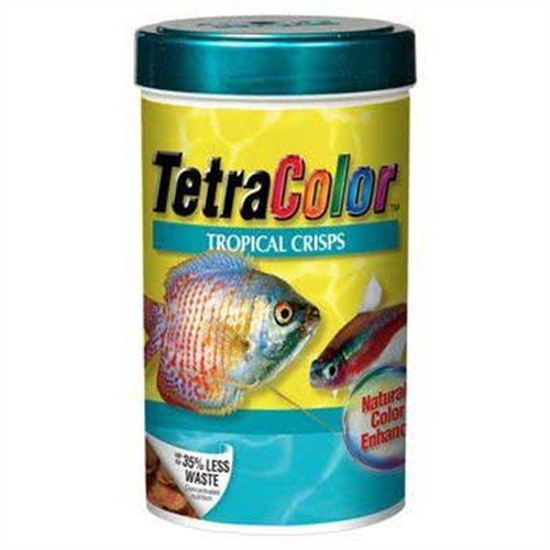 Tetra 77199 TetraColor Tropical Crisps, 7.41-Ounce, 1-Liter, My Pet Supplies