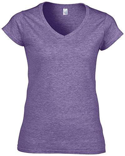 Chiné T Ltd Violet Absab Femme shirt Courtes Manches CSw5Z0
