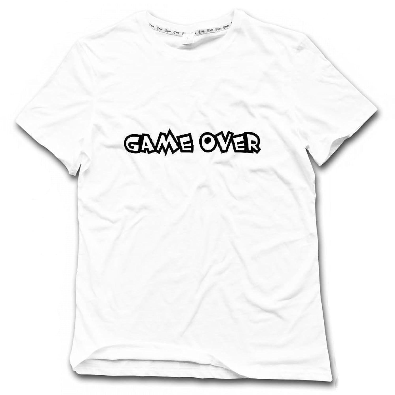 qingdaodeyangguo Customized Gifts Game Over Comic Mens Graphic Tee Shirt  chic 6312aa40f34