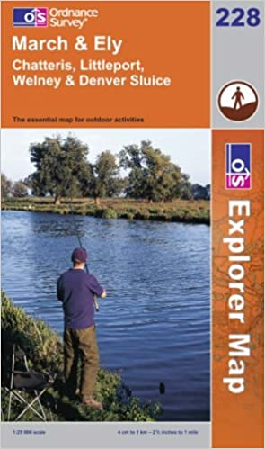 March and Ely (Explorer Maps) (OS Explorer Map)