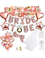 Kip Party Accessoires Decoratie, Bruid om Sjerp Sluier Ballon Kip Night Party Decoratie Bruid om Banner Badge Tattoos voor Bruidsdouche
