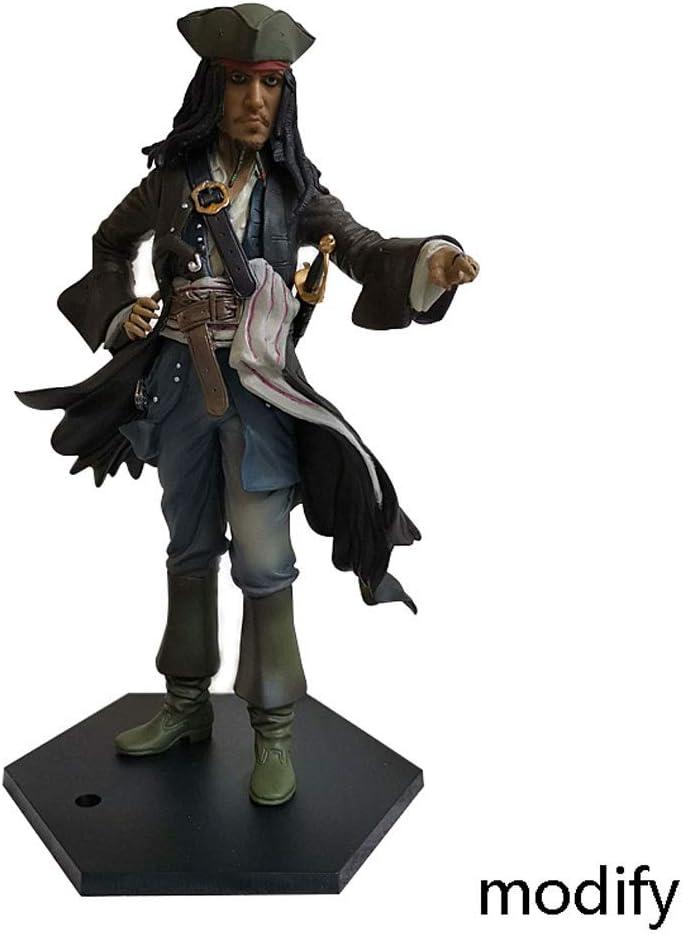 Duzhengzhou Piratas del Caribe: El Cofre de la Serie 1 del caníbal Jack Sparrow del Hombre Muerto - 9 Pulgadas de PVC Figure: Amazon.es: Juguetes y juegos