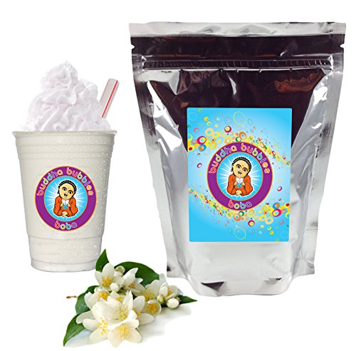 Jasmine Milk Tea Boba/Bubble Tea By Buddha Bubbles Boba 10 Ounces (283 Grams)