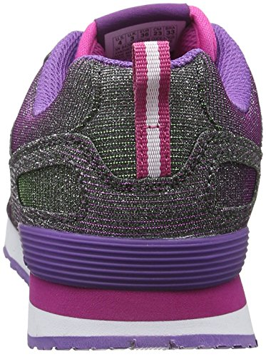Skechers Mädchen Retrospect Shinetime Low-Top Violett (PRGR)