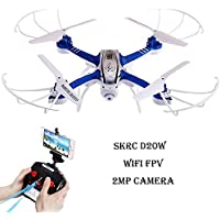 Flymemo SKYC D20W WiFi FPV 2MP Camera 2.4GHz 4 Channel 6 Axis Gyro Quadcopter 3D Rollover RTF Version