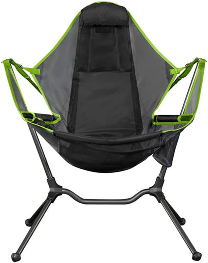 Swinging Comfort Lean Back Outdoor Folding Chair LYDQ Chair Camping Swing Luxury Recliner Relaxation