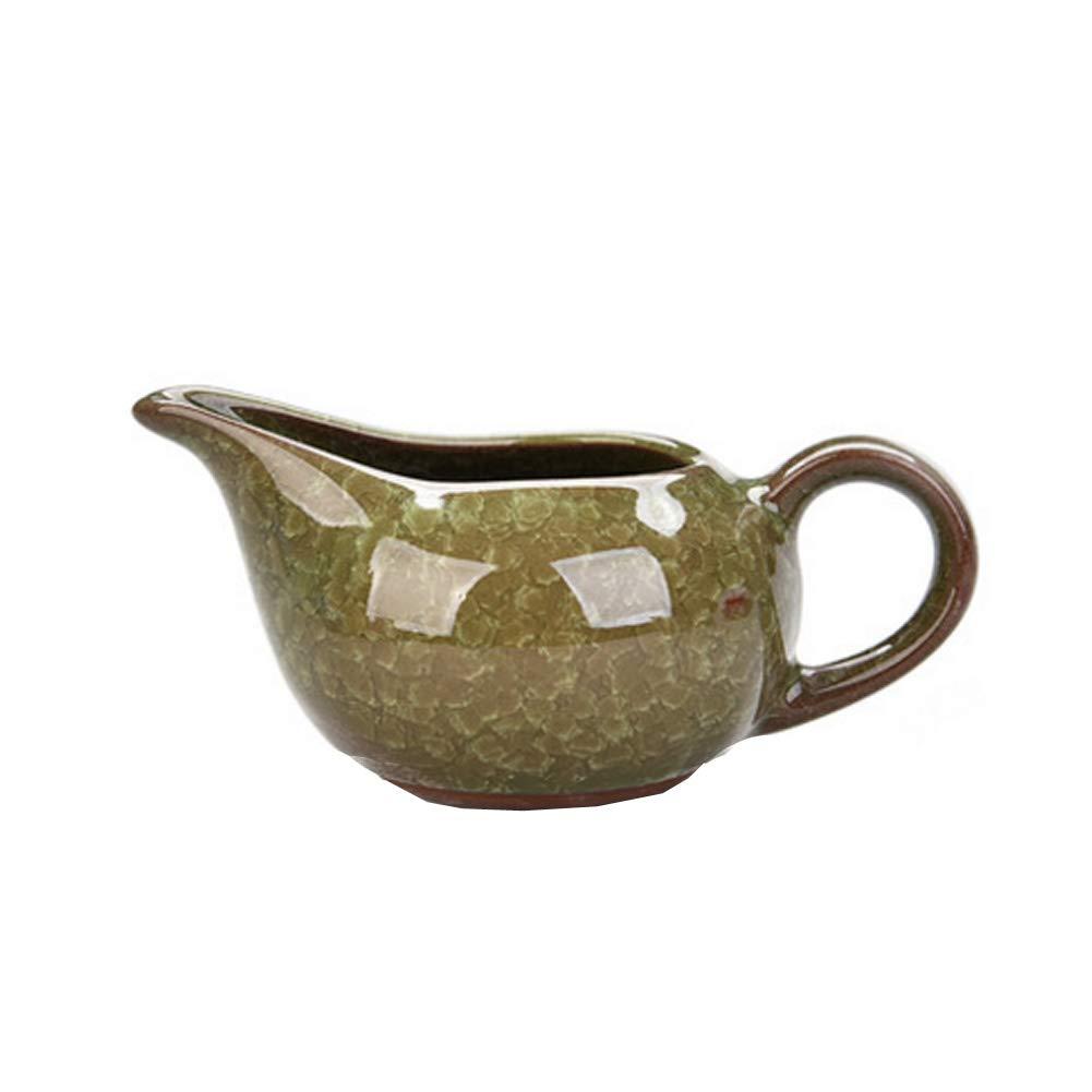 Kylin Express Vintage Handmade Ceramic Pottery Porcelain Tea Accessories,Chinese & Japanese Style Kungfu Tea Set#V