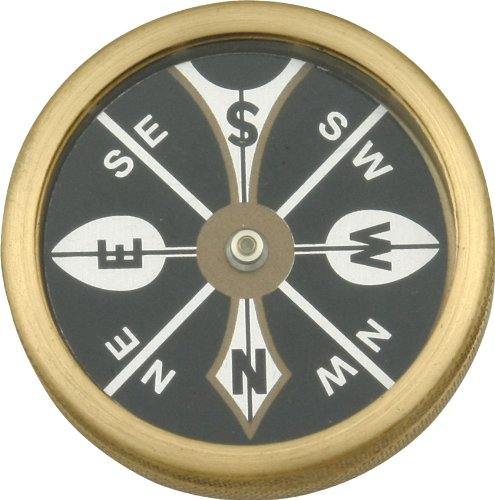 Hen & Rooster MR223 Large Pocket Compass Hunting Field Dressing Accessories (Compass Marble)