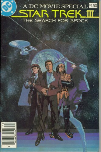 Star Trek III : The Search For Spock (Official Movie Adaptation - DC ()