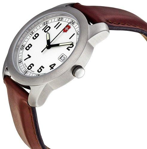 Amazon.com: Victorinox Swiss Army Mens VICT26004.CB Classic Analog Stainless Steel Watch: Victorinox: Watches