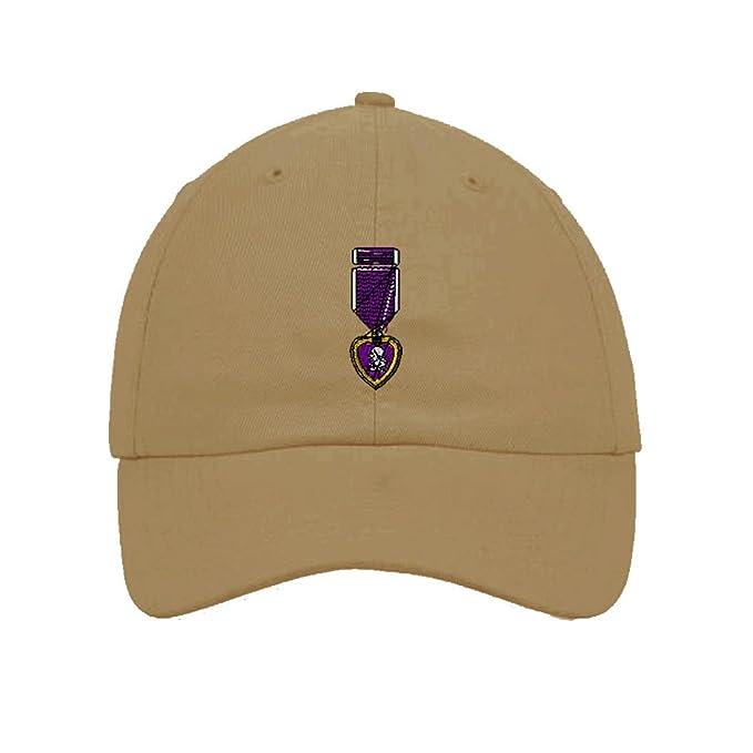 d49ec34fec5 Amazon.com  Speedy Pros Cotton Low Profile Hat Army Military Purple ...