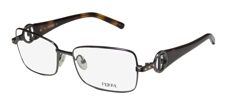 Gianfranco Ferre 33003 Womens/Ladies Rxable High-class Designer Full-rim Crystals Eyeglasses/Eyeglass Frame