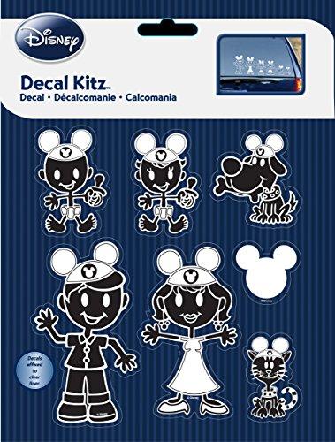 CHROMA 5381 Mickey Mouse Ears Family Decal Kit